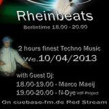 N-Dye meets Rheinbeats @ Cuebase-FM.de