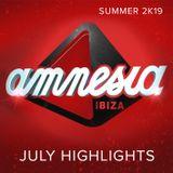 AMNESIA Ibiza [July Highlights]