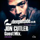 JON CUTLER is on DEEPINSIDE