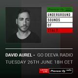 Simone Vitullo - Go Deeva Records Radio #009 (David Aurel Mix) (Underground Sounds Of Italy)