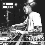 HRBR Balcony Podcast #004 with Demian