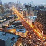 Marcha de Mujeres en San Francisco y la Llegada de Trump a la Presidencia.