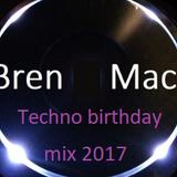 Techno birthday mix 2017
