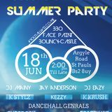 Bringing The Vibe - Promo Mix - Third Summer Party Mixed By Dj Eazy N Dancehall Generals
