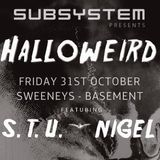 s.t.u. dj set recorded halloween 2014 in dublin