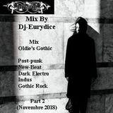 Mix Oldie's Gothic (Part 2) Novembre 2018 By Dj-Eurydice