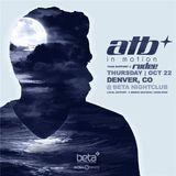 ATB - Live @ Beta Nightclub (Denver) - 22.10.2015