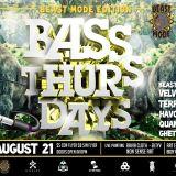 Bass Thursday - 21 de agosto - Promo Mix
