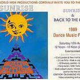 SUNRISE BACK TO THE FUTURE 1989 - CARL COX