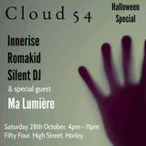Silent DJ Set # 3 - Cloud 54  - 28/10/17 @ Fifty Four, Horley