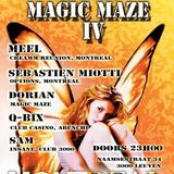 dj Q-Bix @ Club Montreal - Magic Maze IV 15-06-2013