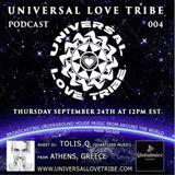Universal Love Tribe podcast 004 on Global Mixx Radio with guest DJ Tolis Q.mp3