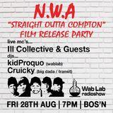 Wab Lab NWA Party at Bosn 28_8_15