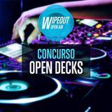Concurso Open Decks Wipeout Open Air - Phi φ