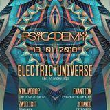 NINJADROP live @ PSYCADEMY / club T.B.A DRESDEN _ JAN132018 [PsyTrance Promomix]