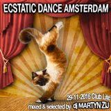 Ecstatic Dance Amsterdam - Tuesday Night - Dj Martyn Zij - November 29th 2016 (Hips, Hops & Joy)