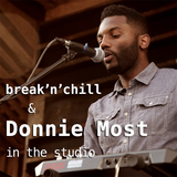 Donnie Most in the studio / Live @ WMUC FM / 10 Feb'14