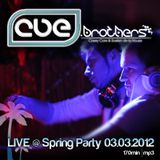 CUE.brothers LIVE @ Spring Party 03.03.2012
