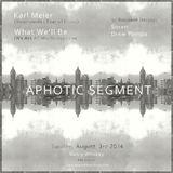 Live @ Aphotic Segment, Detroit, 8/2014