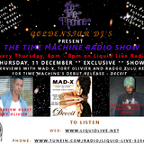 The Time Machine Radio Show with dj Starkid / & live interview & performances on 11th Dec