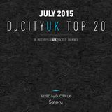 DJcity UK Top 20 Jul. 2015 MIX by Satoru