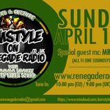 Jamstyle on Renegade Radio with Seenjah ft Mr Joseph & Bramma Shanti