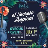 QVLN & OVEOUS live in Azul (July 1st, 2017)