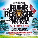 Badenman - Ruhr Reggae Dortmund 2015 Warmup Mix