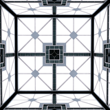 Hypercube in Space