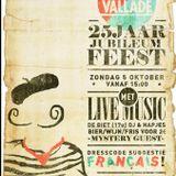 La Vallade 25! DJ-set Bas & Puck all Français 5-10-2014