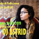 Soiree avec DJ ASTRID VS DJMC moez Radio jeunes Tunis le 24-03-2019