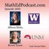 Episode 1603: Allison Hintz & Kersti Tyson