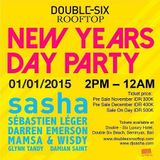 Sasha - Live At Double Six Rooftop, Bali (UMF Radio 299) - 01-Jan-2015