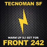 tecnoman sf @ warm-up for front 242