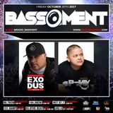 The Bassment w/ DJ Exodus 10.20.17 (Hour One)