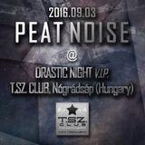 Peat Noise @ DRASTIC NIGHT, T.SZ. Club, Nógrádsáp (Hungary) (03.SEP.2016)