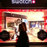IRF14 Swatch Store Pop-Up Radio show with Gaby Sanderson and Samuel Anthermaten 30Aug14