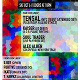 TENSAL - Live @ Lost In Ether Podcast #104, COLORFIELD - Brooklyn - Nueva York (06.10.2018)