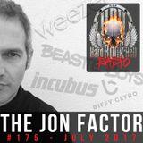 Hard Rock Hell Radio - The Jon Factor 176 - August 2017