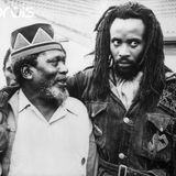 DENNIS BROWN AND WINSTON RODNEY , CROWNED PRINCE OF REGGAE AND BURNING SPEAR.