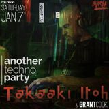 DJ Grant Cook - Another Techno Party - January 2017