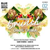 LIVE - Charl Chaka at Blue Marlin Ibiza UAE Saturday Brunch - March '18