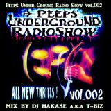 "NevaSleepers.com presents... ""PeepsUnderGroundRadioShow"" vol.002 Mix By T-BIZ(UTTS studio)"