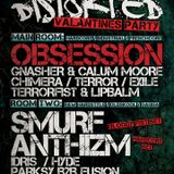 DJ Smurf @ Distorted, Newcastle 15/02/2013 (Bloody Fist set)