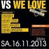 DENIS DINGENS @ WE LOVE RHEINGOLD 16.11.2013