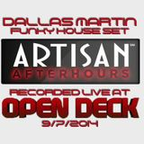 Live at Artisan Afterhours 9/7/2014