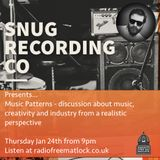 Music Patterns, presented by Snug Recording Co. Jan 24, 2019
