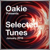 """Oakie Presents """"Selected Tunes"""" January 2016"""