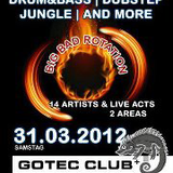 Alex Reeve LIVE @ Big Bad Rotation, Gotec Club 31.3.2012