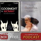 BOX OFFICE: Goodnight Mommy and Anomalisa (12th Mar 2016)